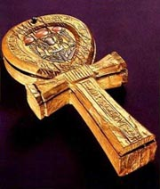 Ankh mirror of Tutankhamun