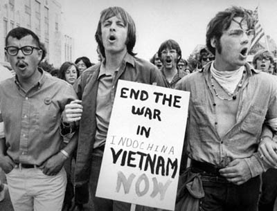 Anti-war Vietnam War protests