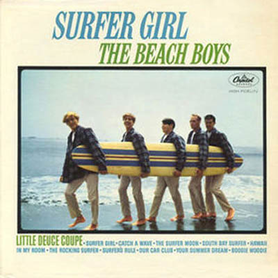 Beach Boys - Surfer Girl album