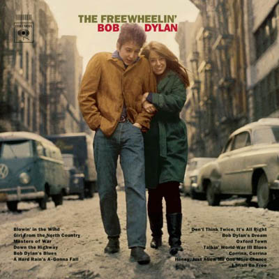 Bob Dylan -The Freewheelin' Bob Dylan album