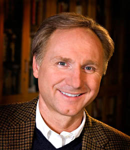 Dan Brown, author of The Da Vinci Code