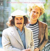 Simon and Garfunkel - Greatest Hits album cover