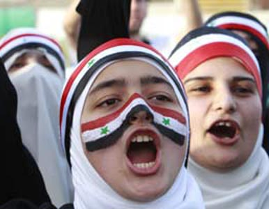 Syria protests - Arab revolution