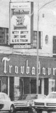 The Troubadour in 1971